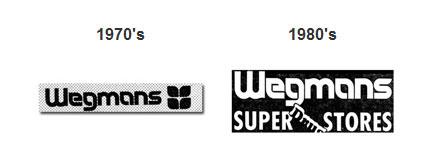 Wegmans logo design