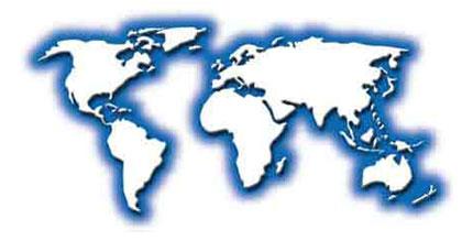 world football map