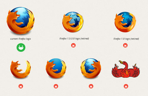 Firefox logo guidelines