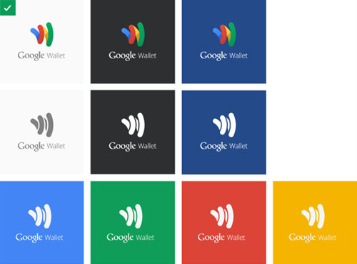 Google wallet logo guidelines