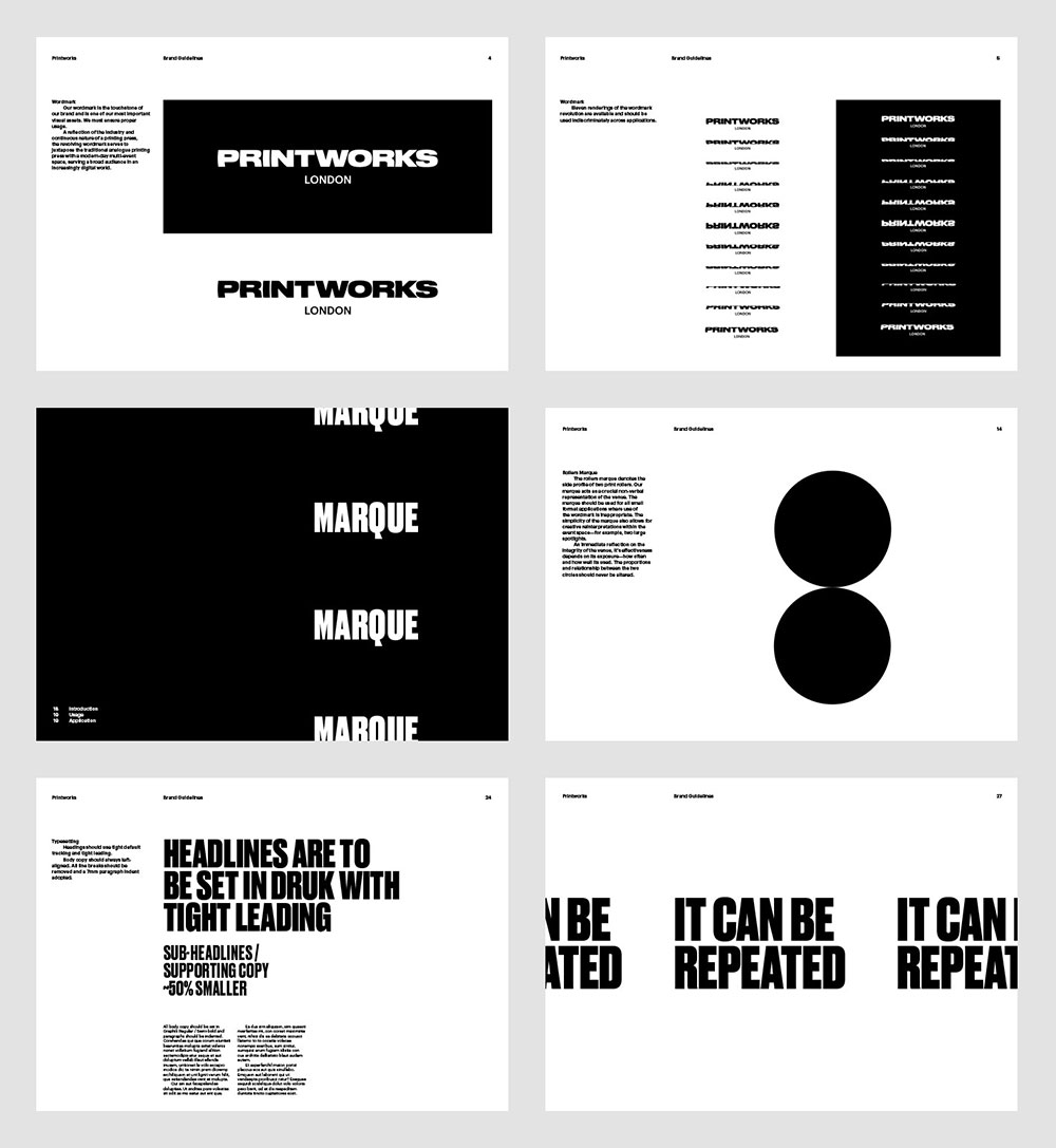 Printworks identity guidelines