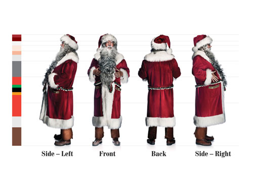 Santa Claus brand guidelines