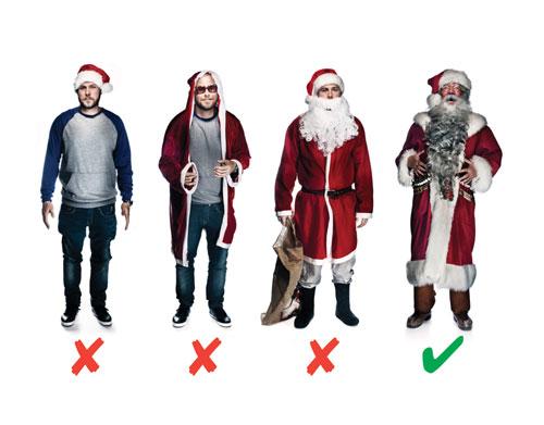 Santa Claus brand guidelines