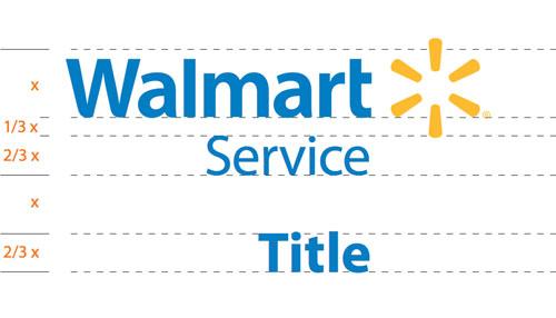 Walmart logo guidelines