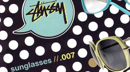 Stussy sunglasses