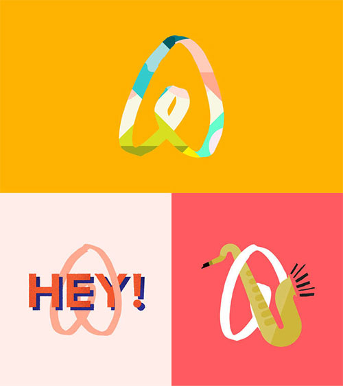 "airbnb-custom-logos Airbnb introduces ""the Bélo"" design tips"