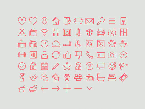 Airbnb icons