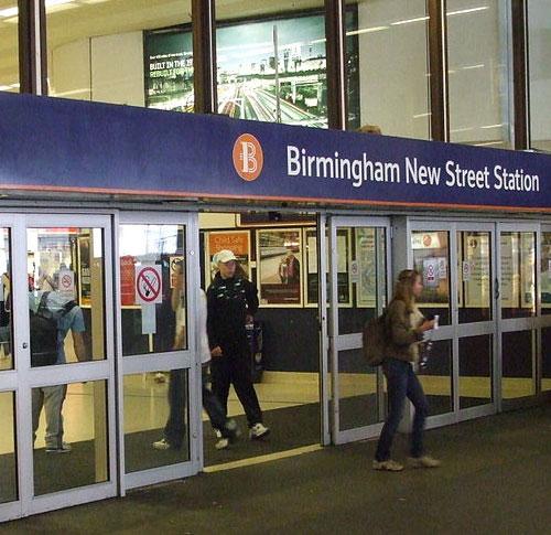 Birmingham New Street Station logo