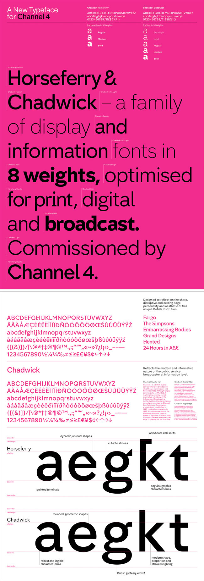 Channel 4 typeface