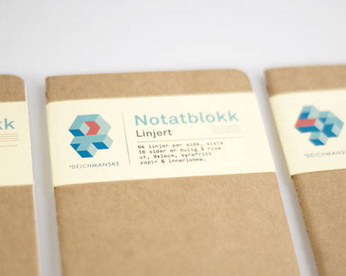Deichmanske Library identity design
