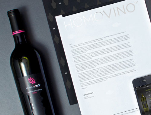 HomoVino stationery