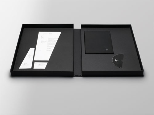 HP identity design by Moving Brands