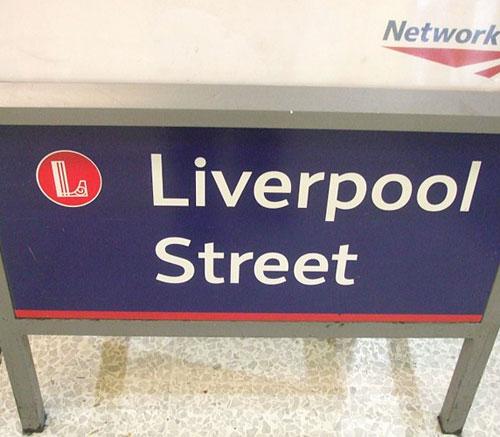 Liverpool Street Station logo