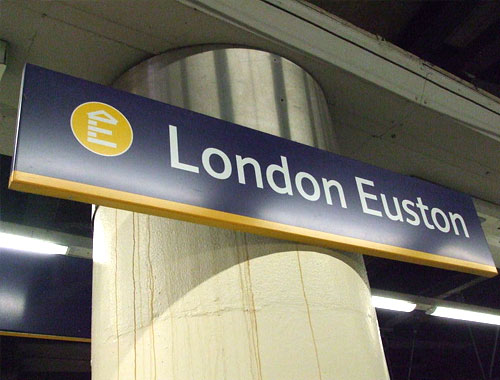 London Euston Station logo