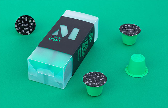 Moccato packaging