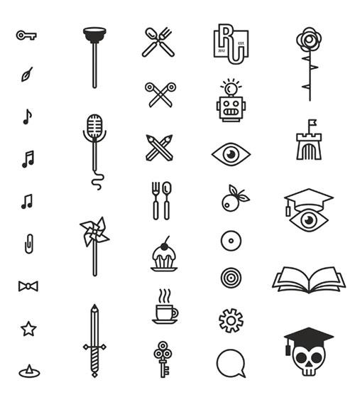 Respublica University icons