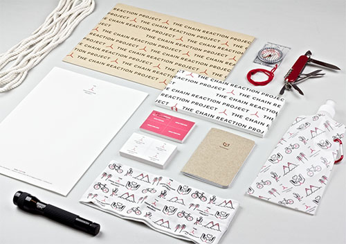 The Chain Reaction Project stationery