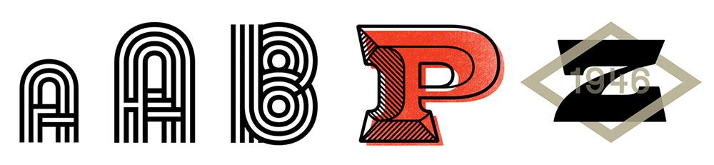 Zeppe logo roughs