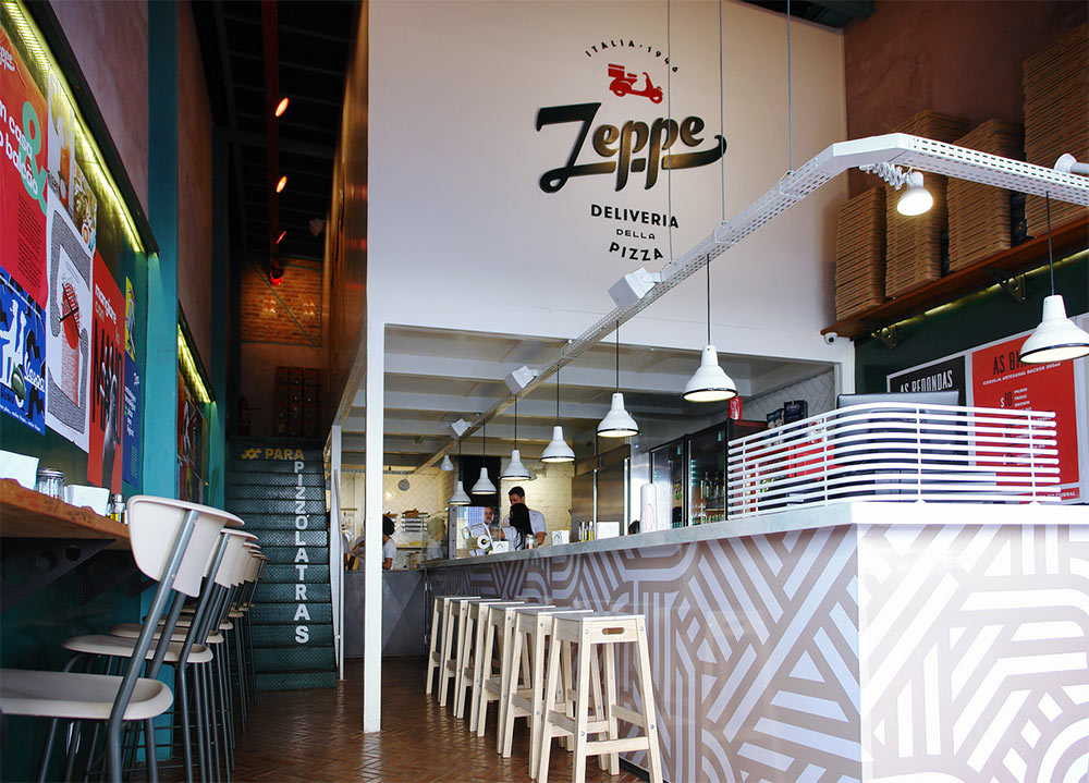Zeppe pizza logo