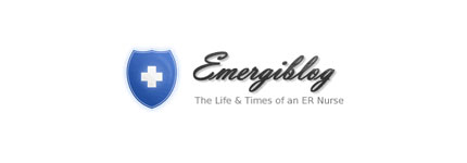 Emergiblog logo design