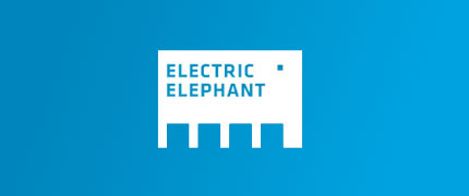 Electric Elephant logo design