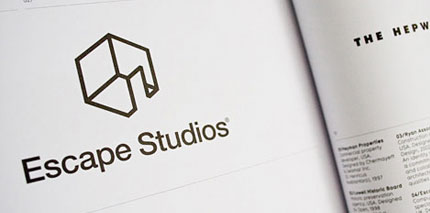 Escape Studios logo design