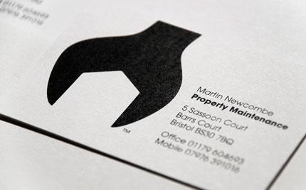 Martin Newcombe logo design