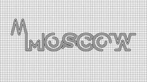 Moscow logo concept