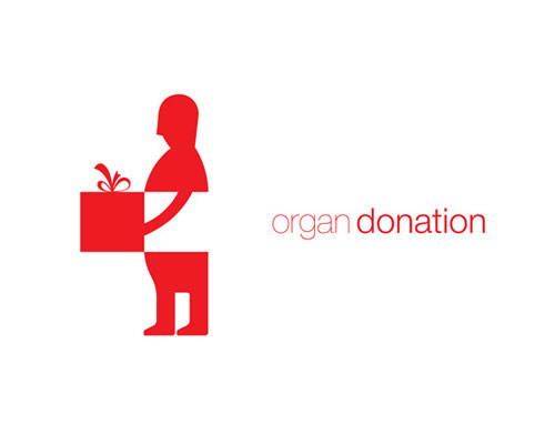 Organ donation logo