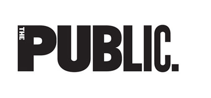 The Public Theater logo design