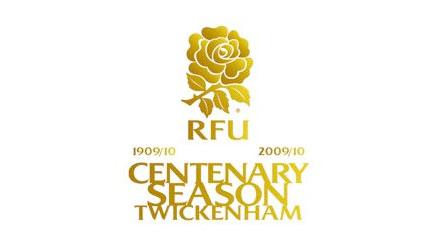 Rubgy Football Union centenary logo