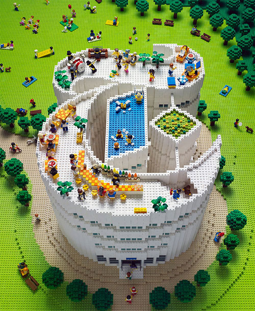 New York Times LEGO