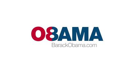 Obama 08 logo design