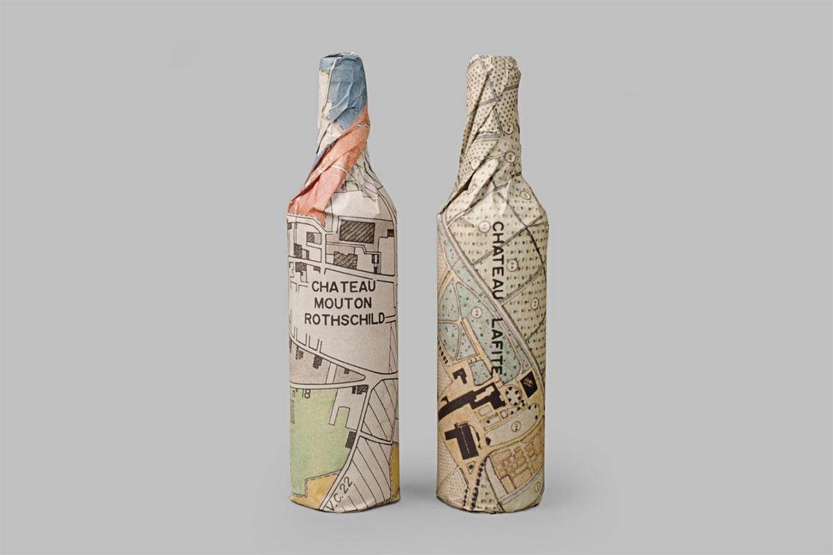 Waddesdon Wine packaging