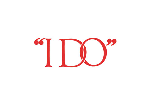 I DO By George Lois Logo Design Love