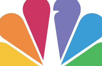 NBC peacock logo design