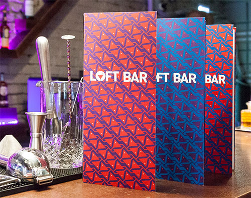 Loft Bar patterns