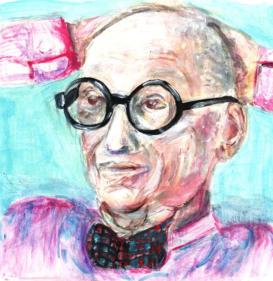 Wally Olins illustration
