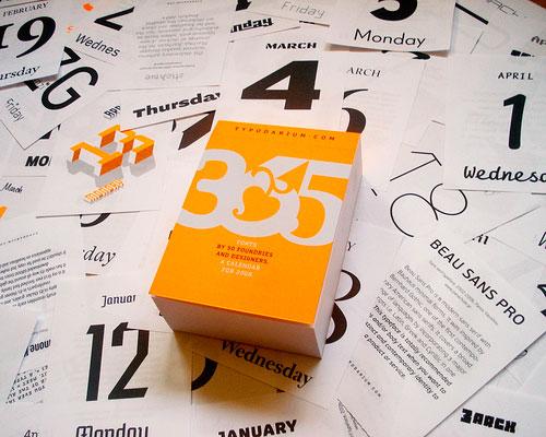 365 typography
