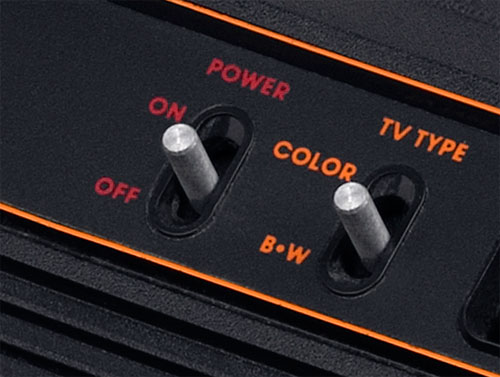 Atari 2600 TV type