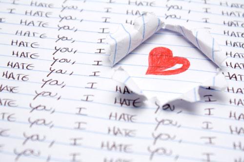 I hate you. I love you.