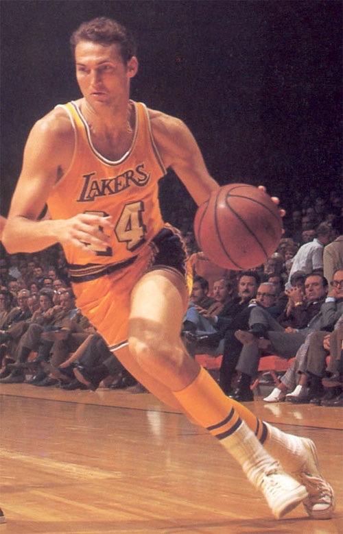 Jerry West NBA logo photo