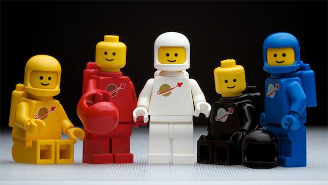 LEGO Space figures 1978