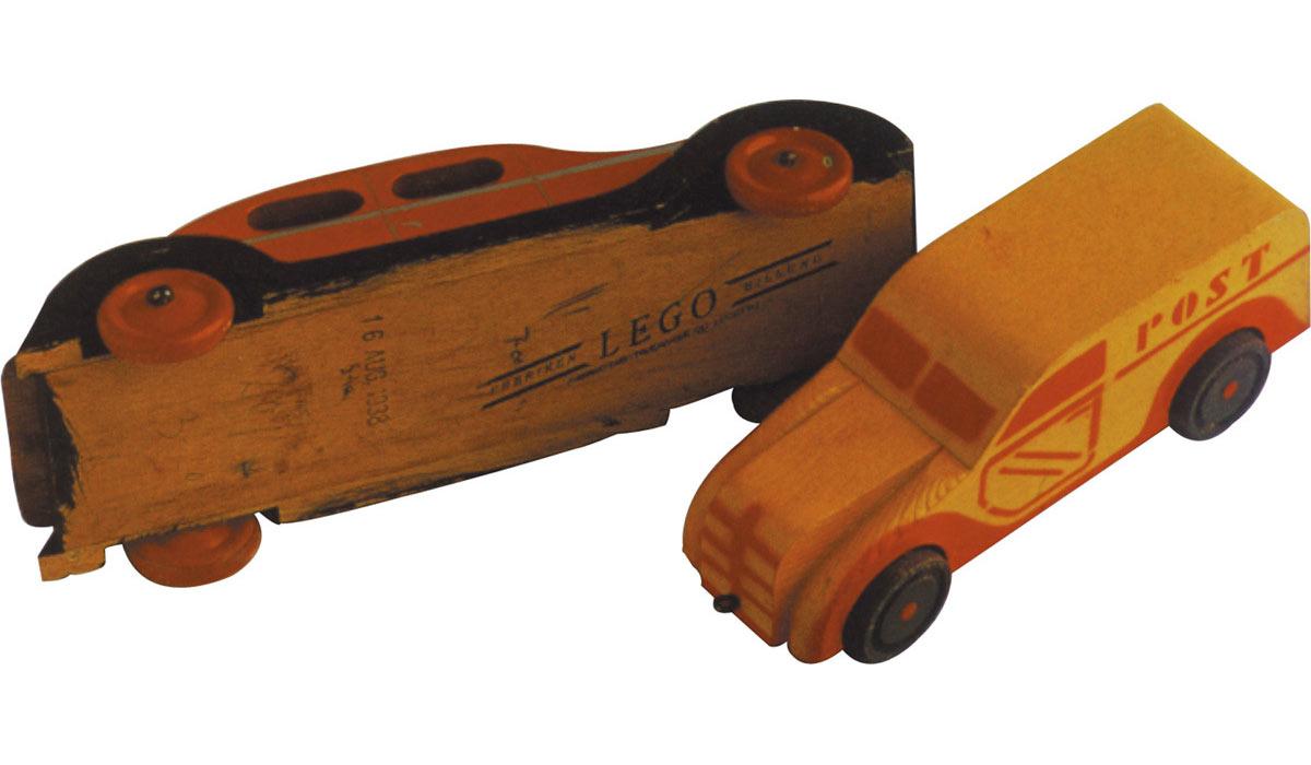LEGO wooden car toy