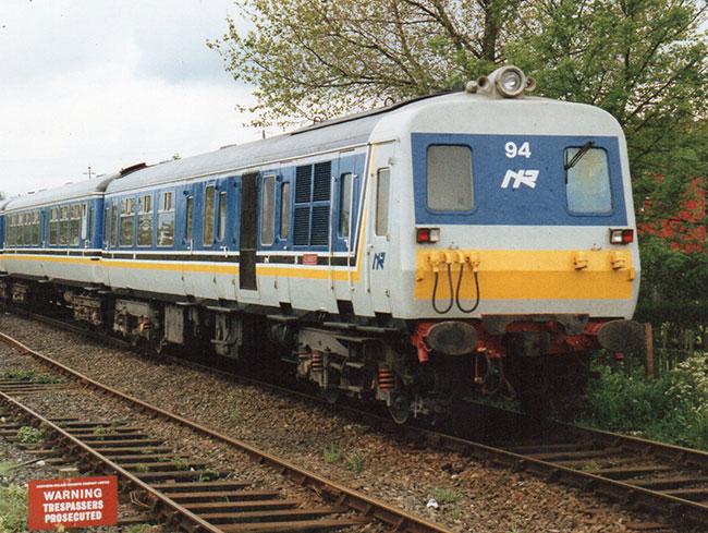 NIR train