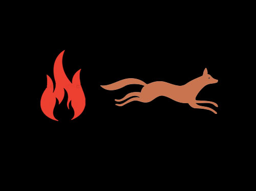 Firefox logo pictogram