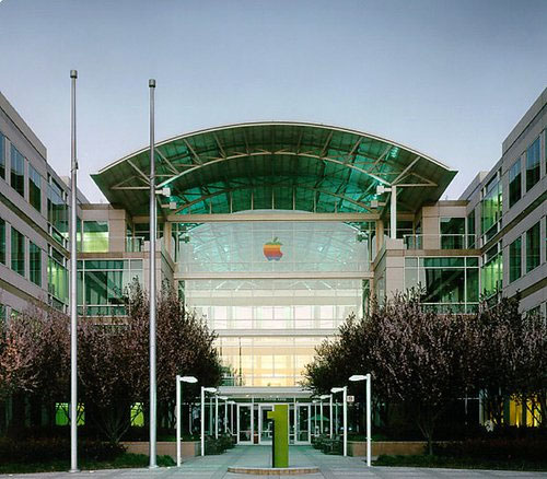 Apple office signage