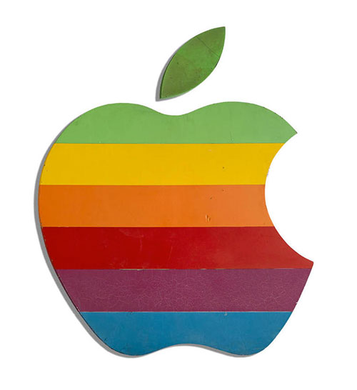 original apple signage