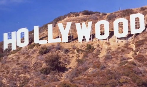Hollywood sign rebuilt