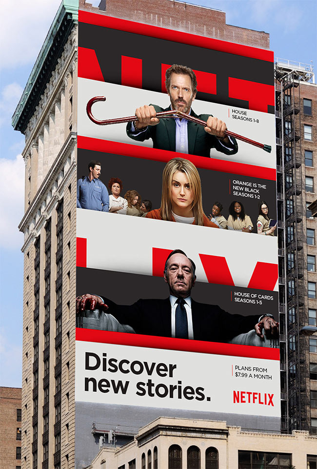 Netflix billboards